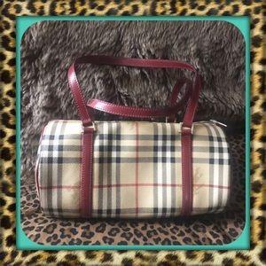 👑AUTHENTIC Burberry Haymarket Nova Check Bag